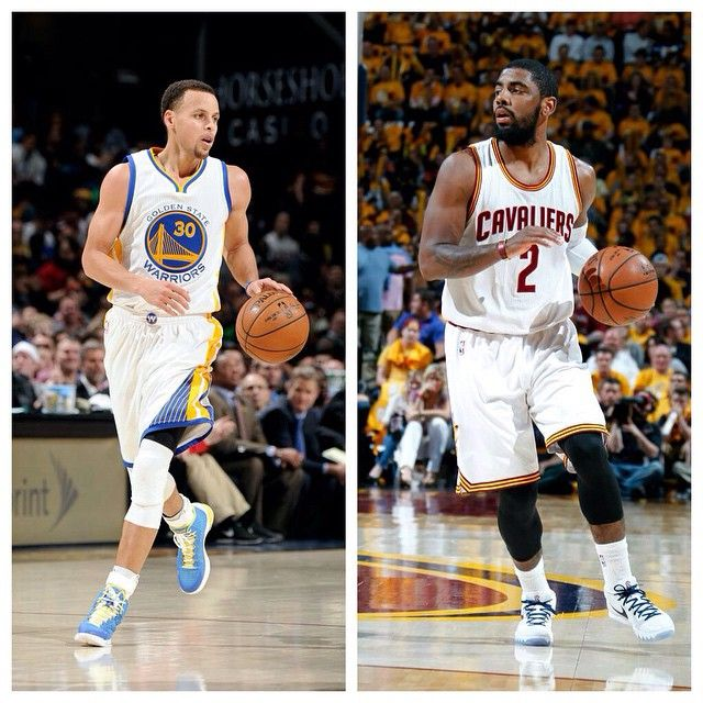 Which point guard will ball out for their team? NBA Finals will see a  battle between MVP Stephen Curry \u0026 Kyrie Irving.