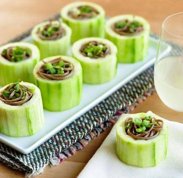 #maki#roll#cucumber#zarusoba#vegewrap