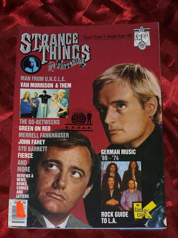 Strange Things Are Happening 1988 No 4 Man From UNCLE Them John Fahey Syd Barrett German Rock Go-Betweens, Krazy Kat Psychedelic Alternate