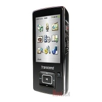 "Transcend t. sonic 870 - 4gb mp3 player/ voice recorder + fm player - plays mpeg4 & flv videos + photos - 2. 4"" tft-lcd display"