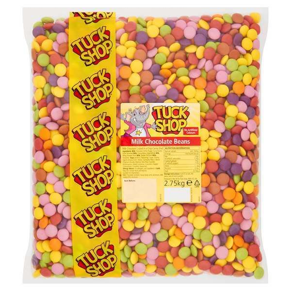 Tuck Shop Milk Chocolate Beans 2.75kg #TuckShop