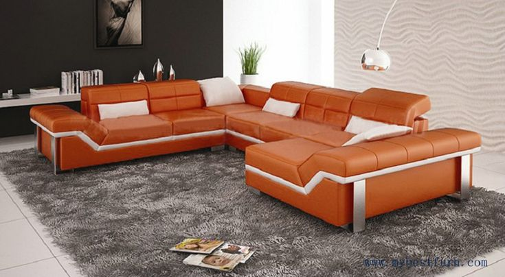 Lovely  Design Leder Couchgarnitur PARMA mit LED Beleuchtung Exklusiv bei Sofa Dreams Leder Couchgarnitur PARMA LED Pinterest Parma