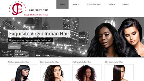 Launched this new responsive website last week, http://www.chicjavorehair.com