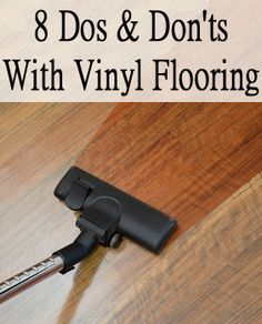 Although vinyl floors are very resilient they still have cleaning and maintenance requirements which you must follow to the letter. 1. Avoid walking on the seamed areas and on the seam sealer of your freshly installed vinyl floor for at least twelve hours. 2. Do not in any circumstance place …