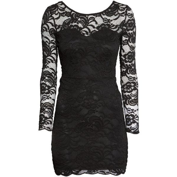 H&M Lace dress found on Polyvore