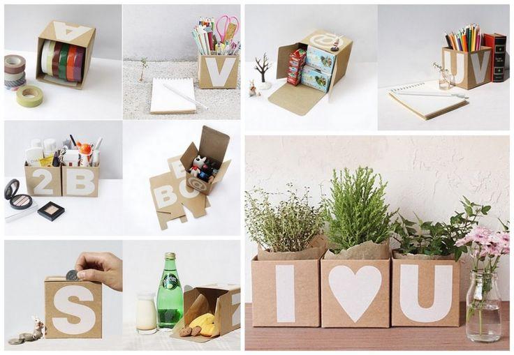 DIY-bruiloftsdecoratie van karton en planten | ThePerfectWedding.nl