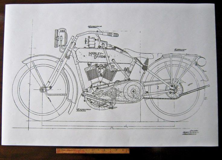 F Dc Df A B Fead on Knucklehead Engine Drawings