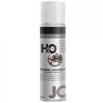 Water based lubricant which is non-toxic and can be used with pleasure toys. Black Licorice flavored. #Personallubricant