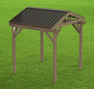 How to Build a Gazebo Plans - Perfect for Hot Tubs - 10' x 10'