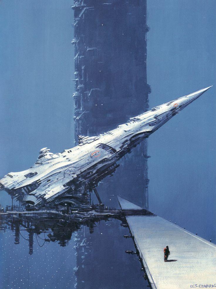 """""""Cygnus"""" by Les Edwards"""