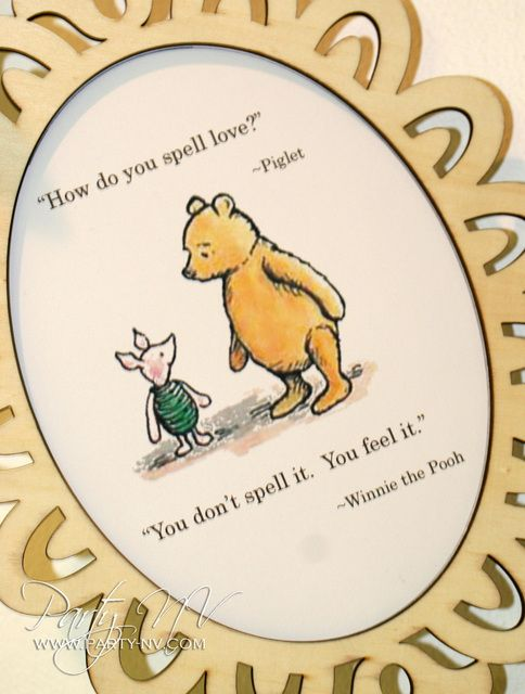 """Photo 25 of 29: Classic Pooh / Baby Shower/Sip & See """"Storybook Pooh Baby Shower"""" 