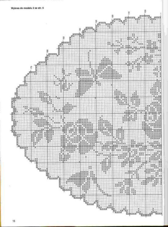 Gallery.ru / Фото #71 - Filet Crochet pour Point de Croix 2 - Mongia