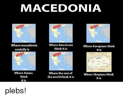Where is #macedonia ?