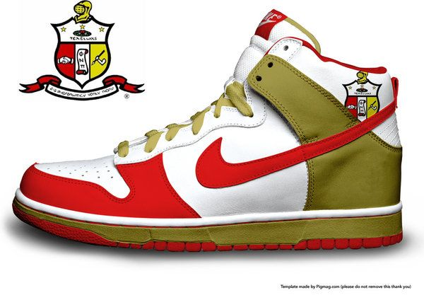 Kappa Alpha Psi sneakers