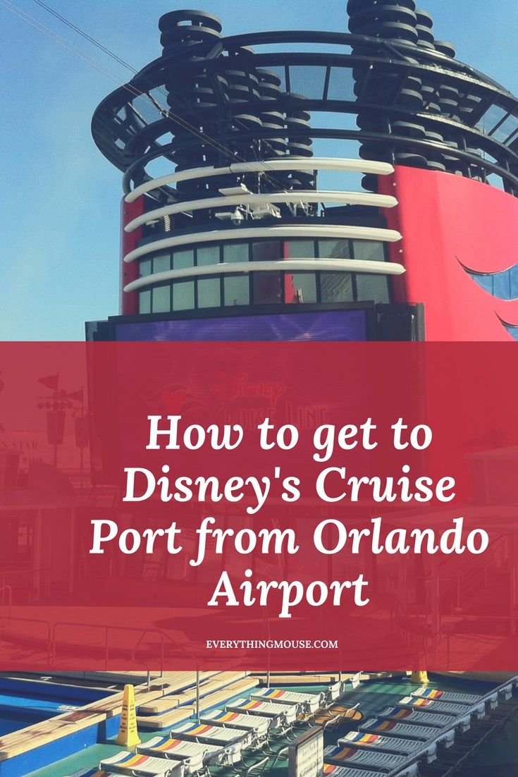 How do you get to #DisneyCruise Port from Orlando Airport? You have booked your cruise and are counting the days until you sail - and you realize that you need to work out how to get to Disney\'s cruise port from Orlando Airport.