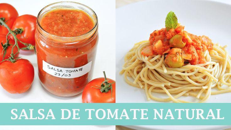 Cómo hacer Salsa de Tomate natural, fácil y rápida   AUXY