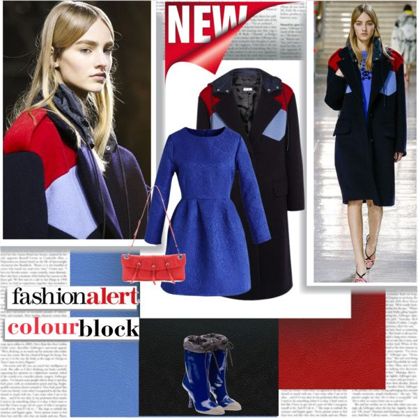 Fashion Alert Colour Block