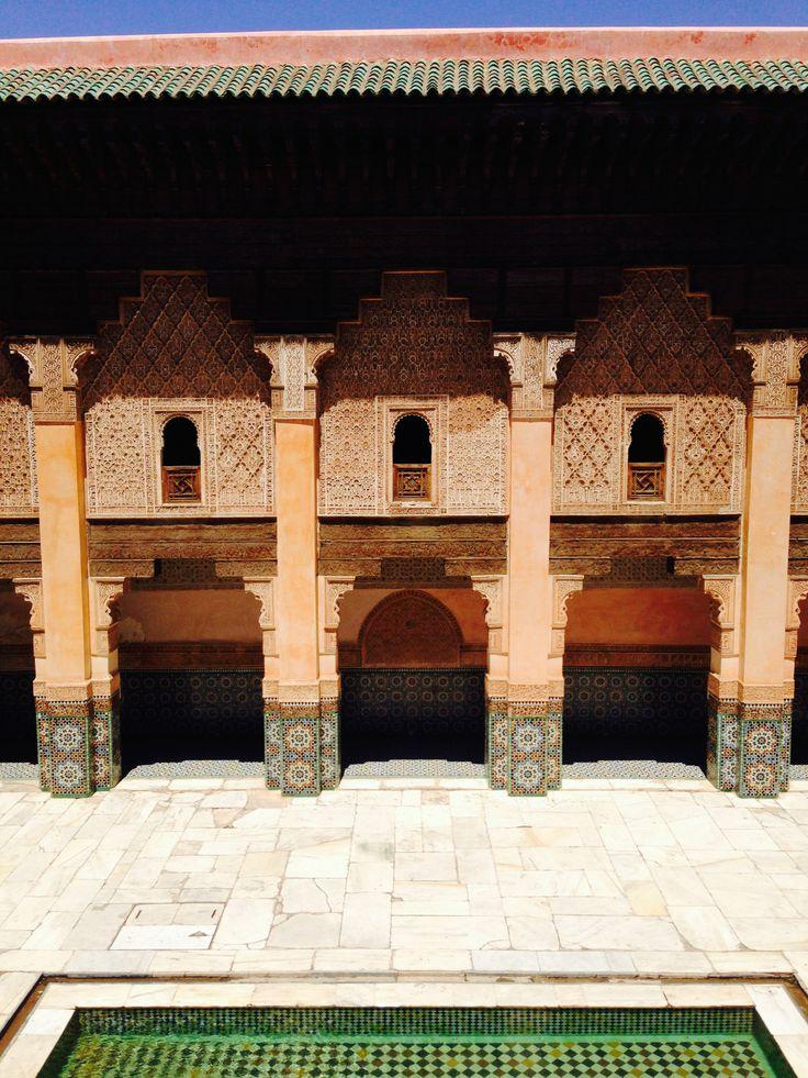 KINSA in Morocco - Ben Youssef Madrasa, Marrakech