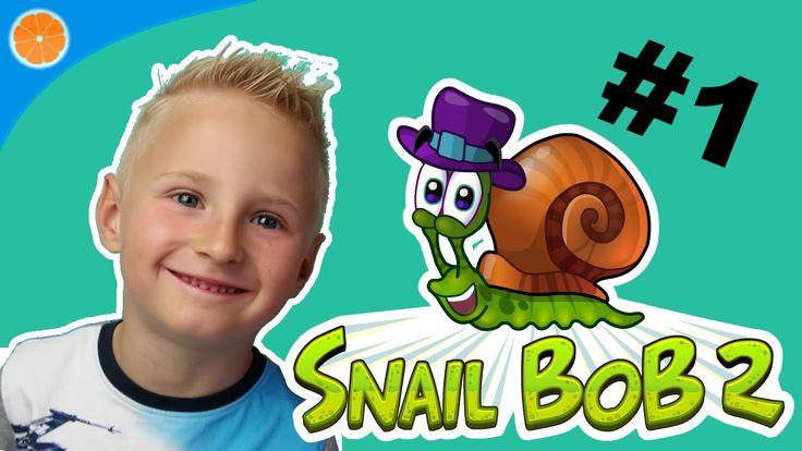 Oskar plays Snail Bob 2 walk through level 1-15 | Blue Orange