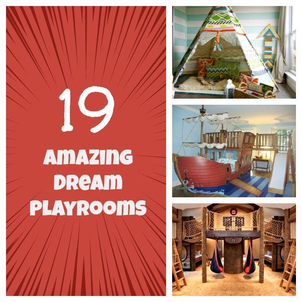 Amazing Playrooms!!!
