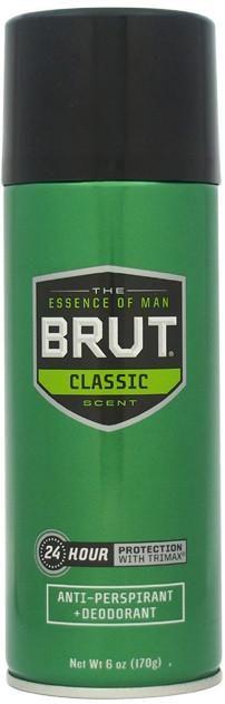 Unisex Brut Antiperspirant & Deodorant Spray Deodorant - 3 Units
