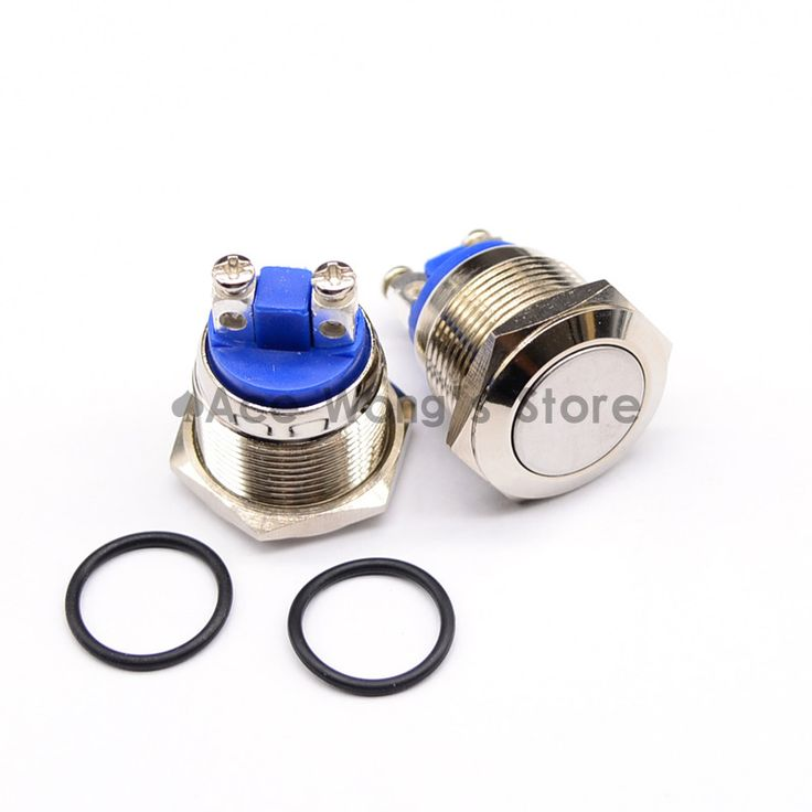 17 best ideas about commutateur electrique projets 19mm start horn button momentary stainless steel metal push button switch hot worldwide