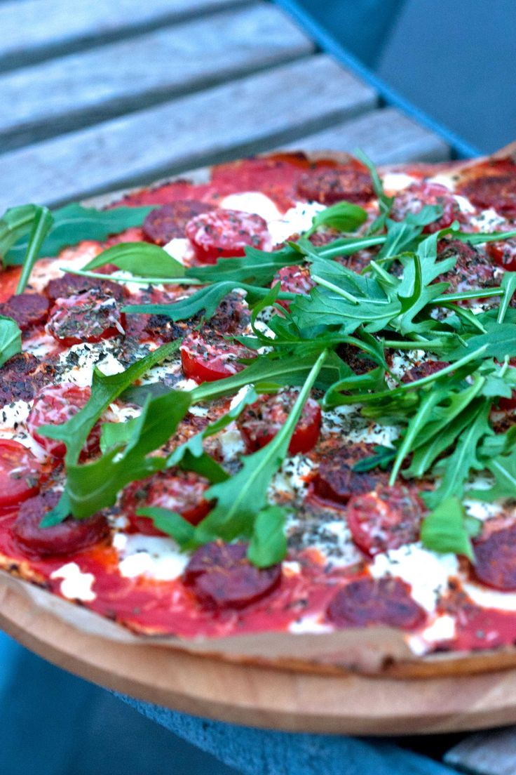 bloemkoolkorst-pizza