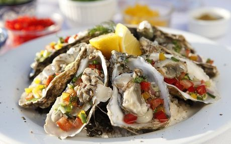 Salsa Oysters Recipe by Jenny Morris