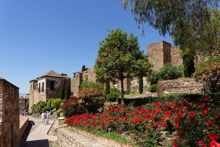Festung Alcazaba, Malaga, Spain