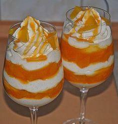 Pfirsich – Sahne-Nuss   – dessert