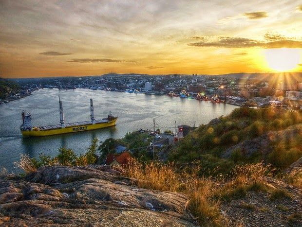 World's 10 most colorful cities - St. Johns, Newfoundland, Canada