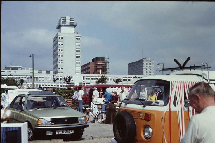 harlow Town car park 1982
