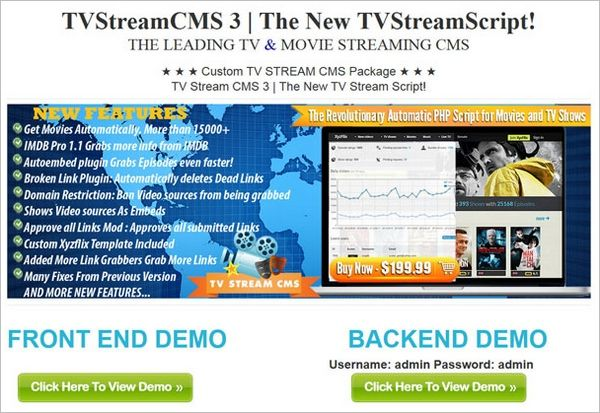 TV Show CMS Script in French - French Movie TV Streaming Site #frenchmovies #TVShow www.tvstreamcms.com