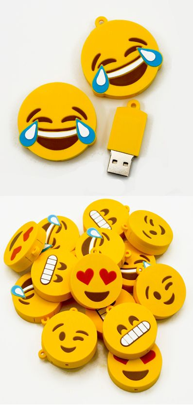 New emoji flash drives. What do you think? Would you be interested?