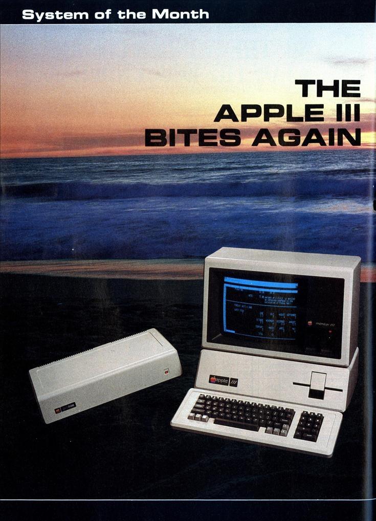 Apple III - vintage adv