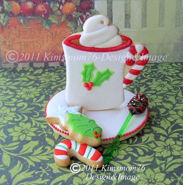 Edible Cup and Saucer Cookies