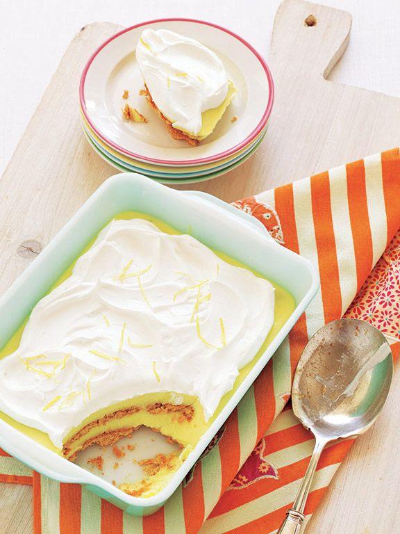 Lemon-Graham Icebox Cake recipe (no-bake dessert!)