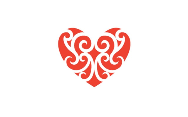 Aroha Healing Heart designed by Native Council