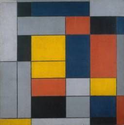 'No. VI / Composition No.II', Piet Mondrian | Tate