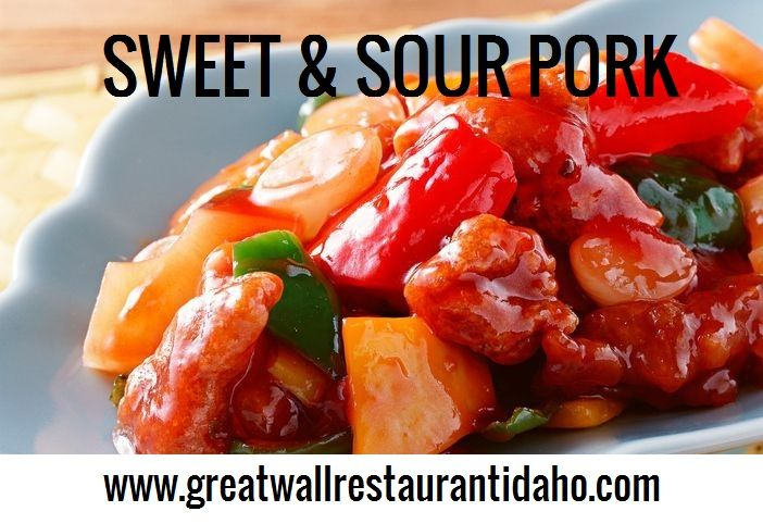 Had a busy day? Put your feet up and enjoy our sweet and sour pork. Try out today: http://www.greatwallrestaurantidaho.com/boise-id-food-menu.htm #SweetandSourPork #Sweet #Sour #Delicious #Spicy #Nutritious #TasteYourBuds #GreatWallRestaurant