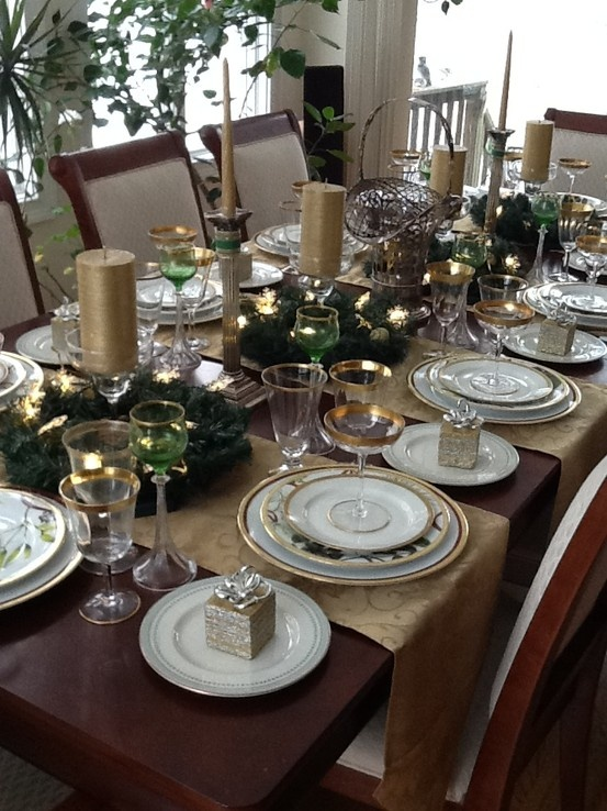 Homemade Wedding Decorations Table