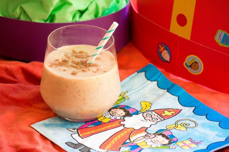 Sinterklaas speculaas smoothie een lekker kinderdrankje voor de dagen naar pakjesavond.