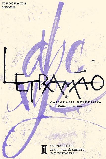 TPC+ Letramão by Tipocracia, via Flickr