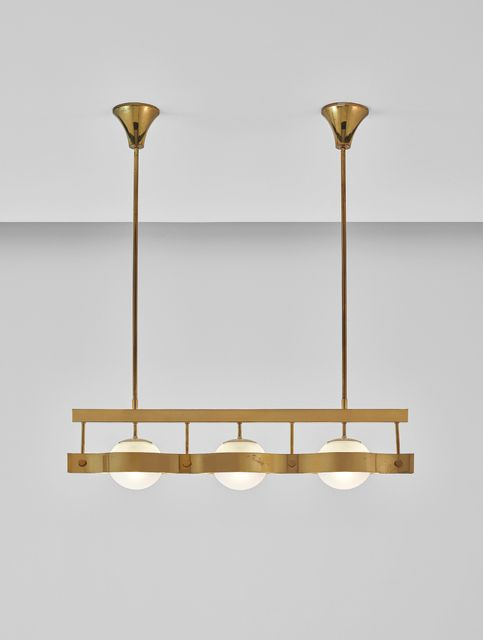 Gio Ponti, Rare ceiling light @artsy