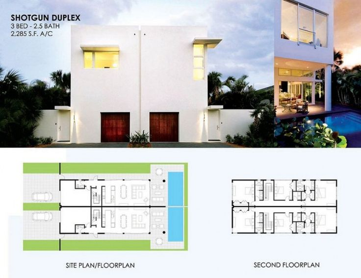 House design modern design shotgun house plans the for Shotgun home designs