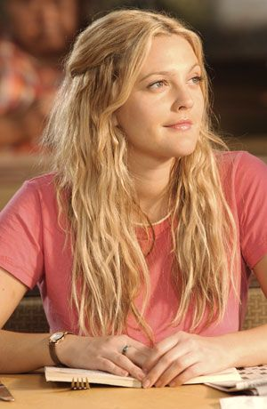 "Drew Barrymore's Mermaid Hair from ""50 First Dates"""