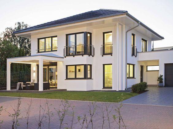 Musterhaus modern walmdach  Die besten 20+ Walmdach Ideen auf Pinterest | Fertighäuser ...