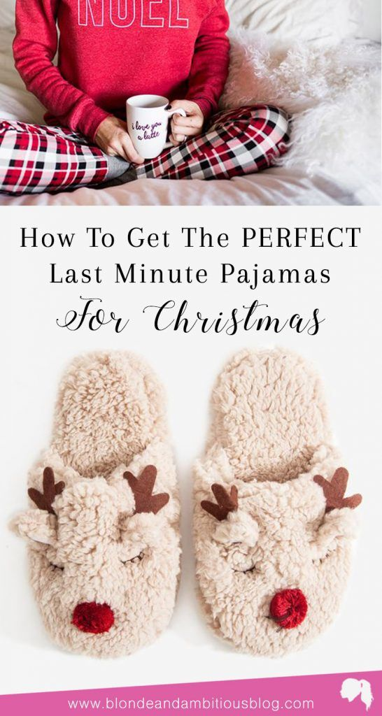 8c294f16ed Where to find the best last minute Christmas pajamas just in time for the  holidays! Christmas pajamas