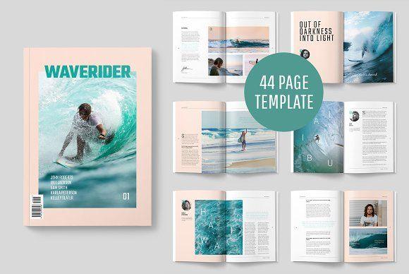 Waverider Magazine Magazine Layout Design Magazine Layout