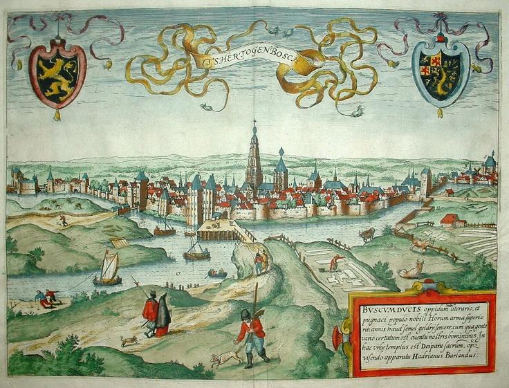 's-Hertogenbosch, Den Bosch, Bois le Duc, Da Baws, Duke Bush or Duke Town. It doesn't matter how you call this city,